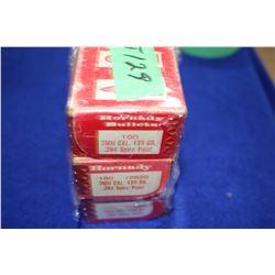 3 Boxes of 7mm (139 gr) Bullets