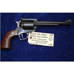 Ruger - New Model - Super 191mm Blackhawk - Restricted Revolver