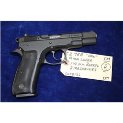 CZ - Model 78B Omega - 122 mm - New (Restricted Handgun)