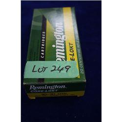 Box of Remington Core Lokt 30.30 Win, 150 gr.