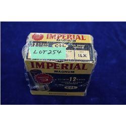 "Full Box of 25 Imperial Magnum, 12 ga., 2 3/4"", #6 Shot, Pressure Sealed Crimp"