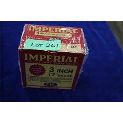 "Full Box of 25 Imperial 3"" Special Long Load, 12 ga, #6 Shot, Pressure Sealed Crimp"