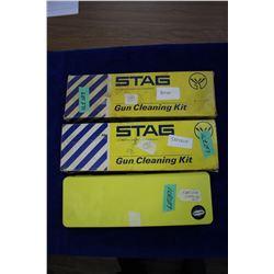 2 Shot Gun & 1 Rifle Cleaning Kits