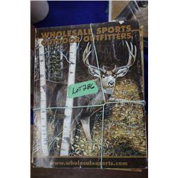 12 Wholesale Sports & Cabelas Catalogues
