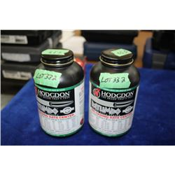2 Containers with Hodgdon Magnum Rifle Power (Full)
