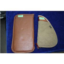 2 Hand Gun Fabric Cases