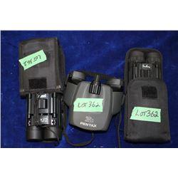 Binoculars (3 pairs)