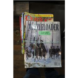 Bundle of 16 Muzzle Loader & Outdoor Books