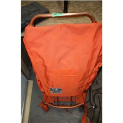 Orange Back Pack
