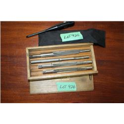 Bushnell Laser Bore Sighter & a Set of Bore Reamers