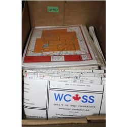 Box with Hunting Maps
