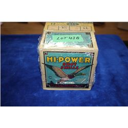 Collector Box with 25 Hi Power Shot Shells, 12 ga., & a Collector Box with 25 Maxum Long Range Load,