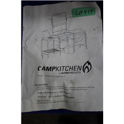 Camp Kitchen by Active Products - sets up as a unit; also has a carry tote