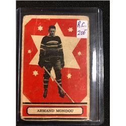 1933-34 O-Pee-Chee V304 #48 Armand Mondou RC