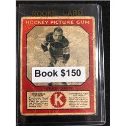 1934-35 Canadian Chewing Gum Hockey Picture Gum Gerald Carson