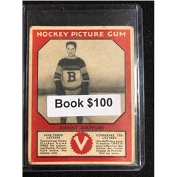1934-35 Canadian Chewing Gum Hockey Picture Gum Johnny Sheppard