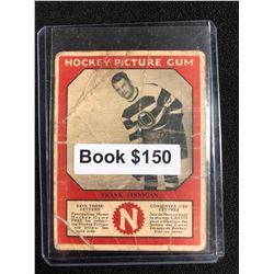 1934-35 Canadian Chewing Gum Hockey Picture Gum Frank Finnigan