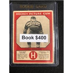 1934-35 Canadian Chewing Gum Hockey Picture Gum Lionel Conacher RC