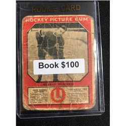 1934-35 Canadian Chewing Gum Hockey Picture Gum Murray Murdoch RC