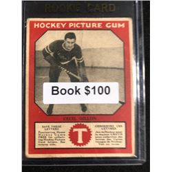 1934-35 Canadian Chewing Gum Hockey Picture Gum Cecil Dillon RC