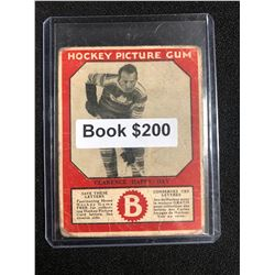 1934-35 Canadian Chewing Gum Hockey Picture Gum Clarence Day