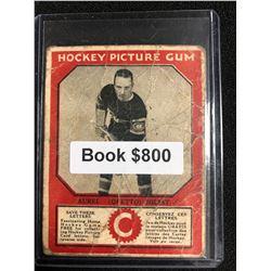 1934-35 Canadian Chewing Gum Hockey Picture Gum Aurel Joliat