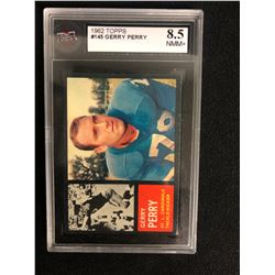 1962 TOPPS #145 GERRY PERRY (8.5 NMM+)