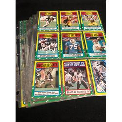 1986 TOPPS FOOTBALL CARD LOT
