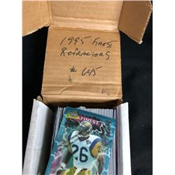 1995 FINEST REFRACTORS FOOTBALL CARDS