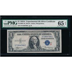 1935A $1 Experimental Silver Certificate PMG 65EPQ