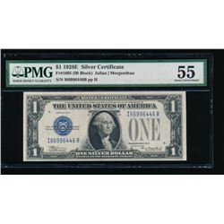 1928E $1 Silver Certificate PMG 55