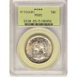 1921 Missouri Centennial Commemorative Half Dollar Coin PCGS MS65