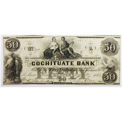 1853 $ COCHITUATE BANK OF BOSTON.