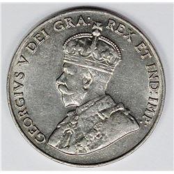 1926 NEAR 6 CANADA NICKEL