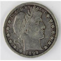 1899-O BARBER HALF DOLLAR
