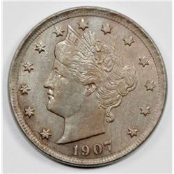 1907 LIBERTY NICKEL