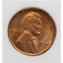 1934-D LINCON CENT