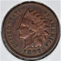 1897 INDIAN CENT