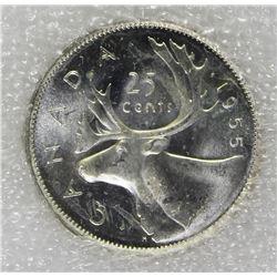 1955 CANADA QUARTER