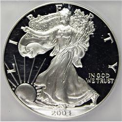 2004-W AMERICAN SILVER EAGLE