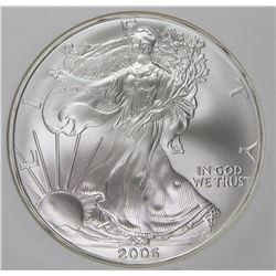 2006 AMERICAN SILVER EAGLE