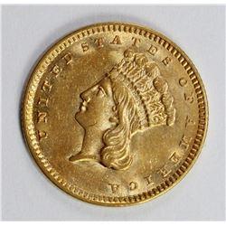 1857 GOLD DOLLAR
