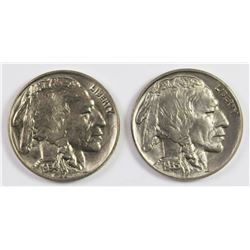 1934 AND 1935 BUFFALO NICKELS