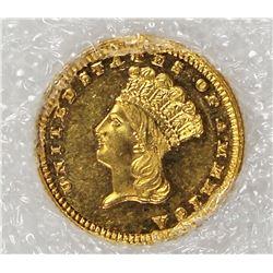 1885 GOLD DOLLAR
