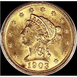 1903 $2.50 GOLD LIBERTY