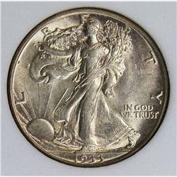 1933-S WALKING LIBERTY HALF DOLLAR