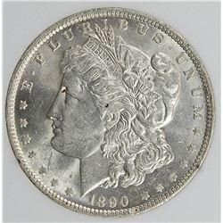 1890-O MORGAN SILVER DOLLAR