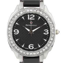 Bernoulli Casual Crystal Bezel Ladies Watch