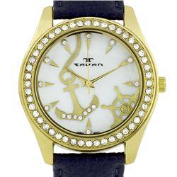 Tavan Swarovski Crystal Bezel Ladies Watch