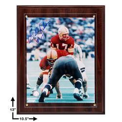 Billy Kilmer Washington Redskins Signed Plaque